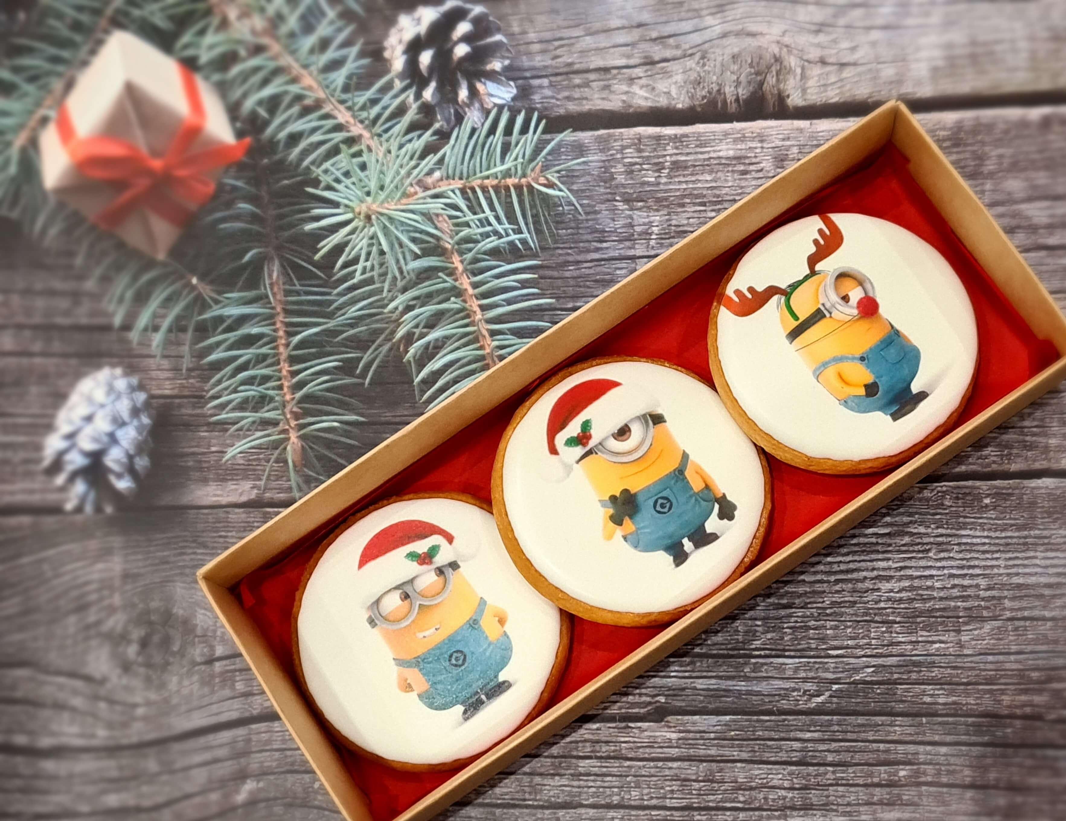"""Dekoruoti imbieriniai sausainiai """"Kalėdos"""" 18"""