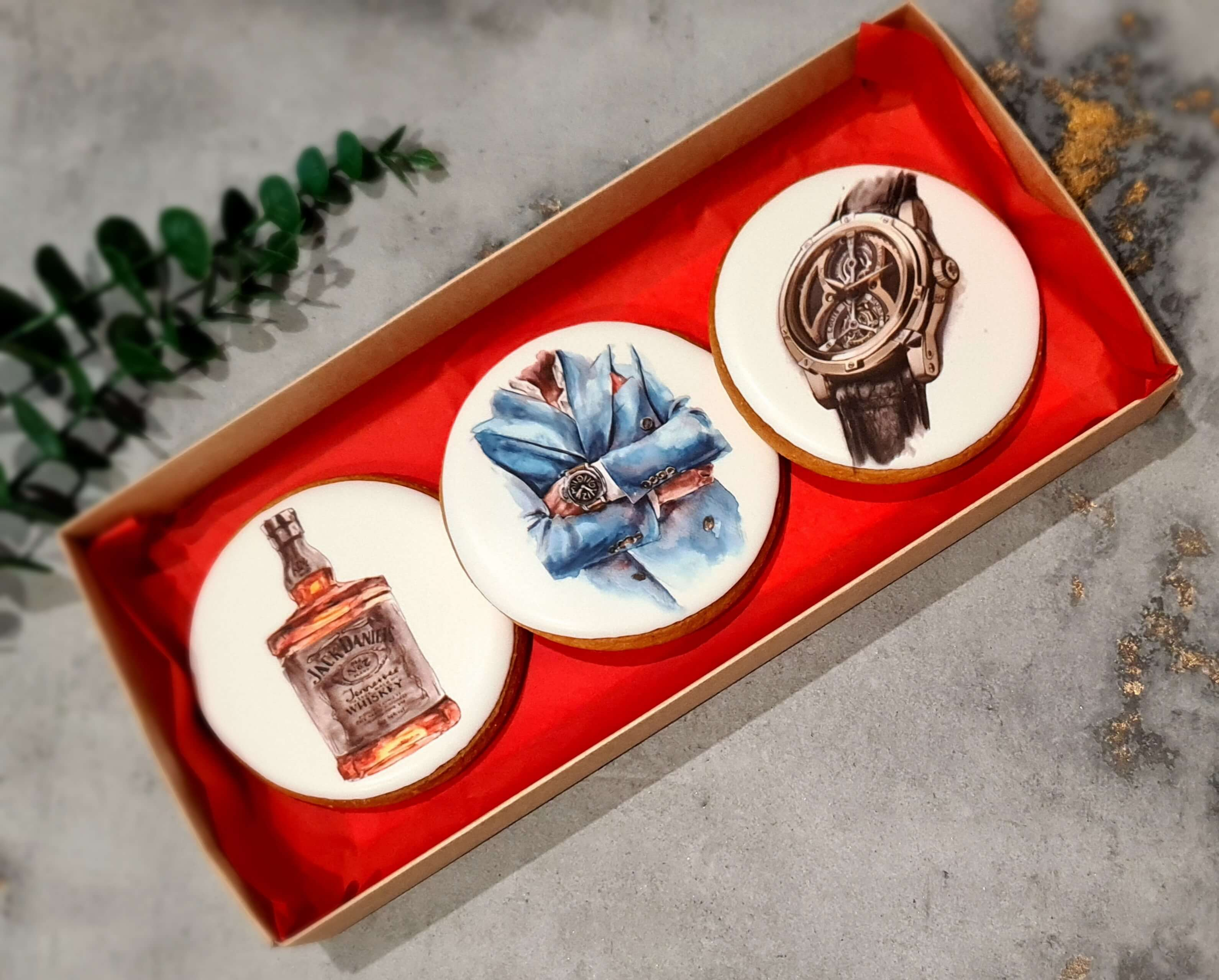"""Dekoruoti imbieriniai sausainiai """"Aksesuarai-3"""""""