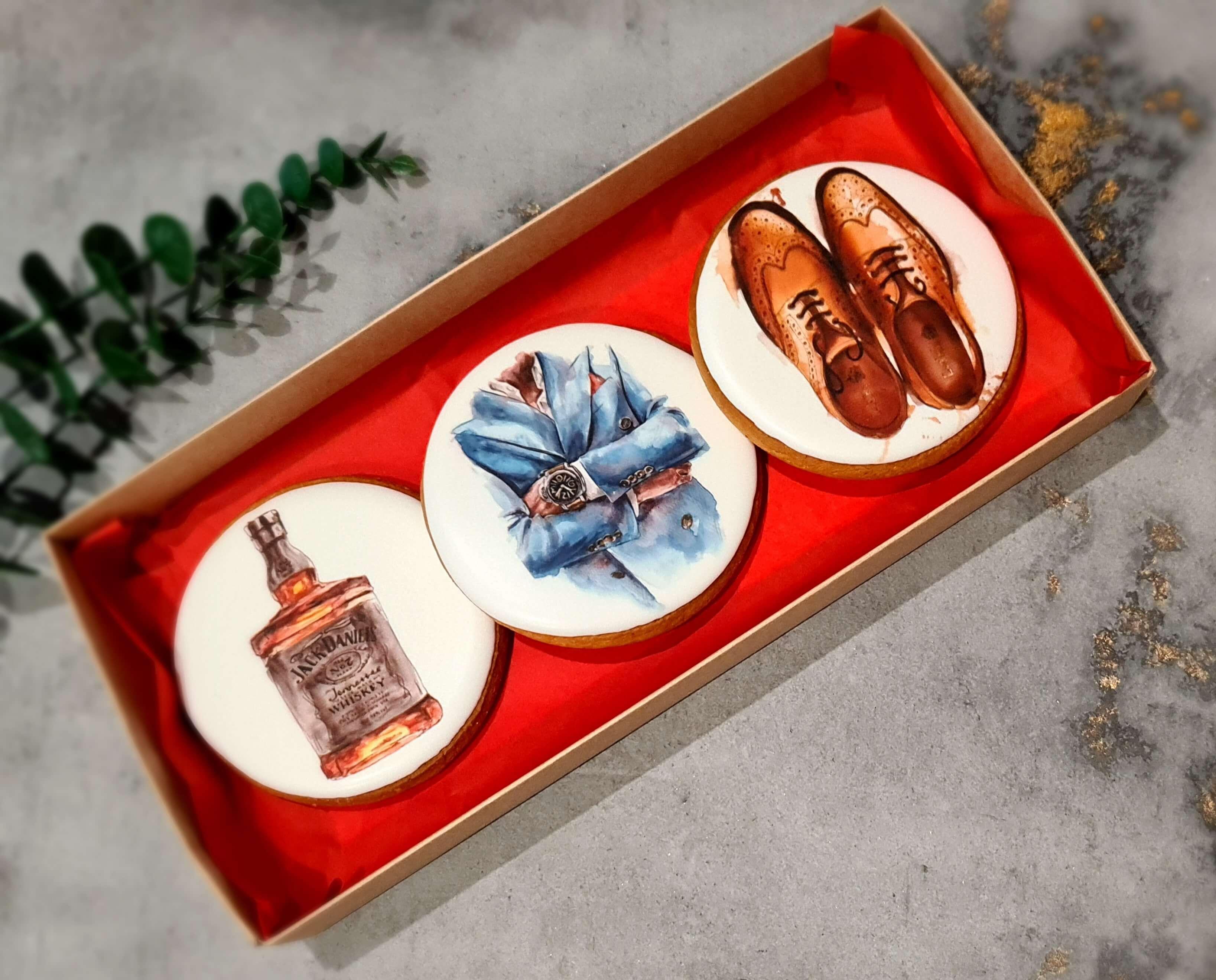 """Dekoruoti imbieriniai sausainiai """"Aksesuarai-1"""""""