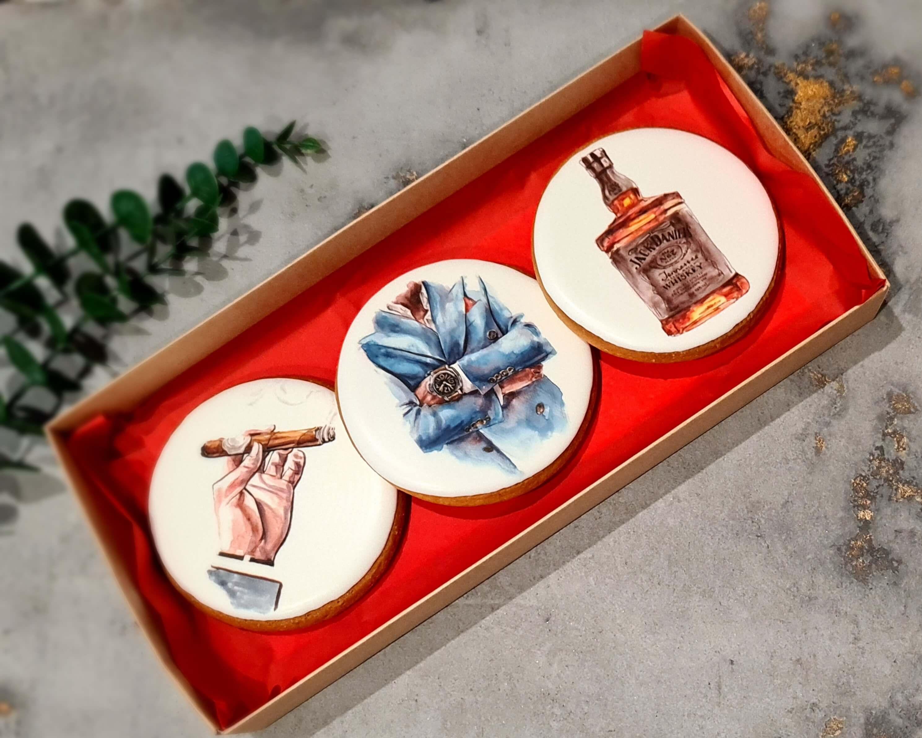 """Dekoruoti imbieriniai sausainiai """"Aksesuarai-2"""""""