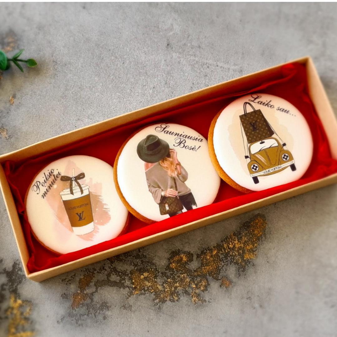 """Dekoruoti imbieriniai sausainiai """"Boso diena"""" 3"""