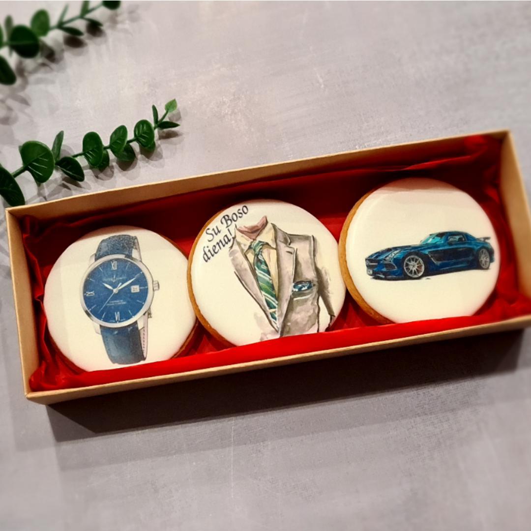 """Dekoruoti imbieriniai sausainiai """"Boso diena"""" 7"""