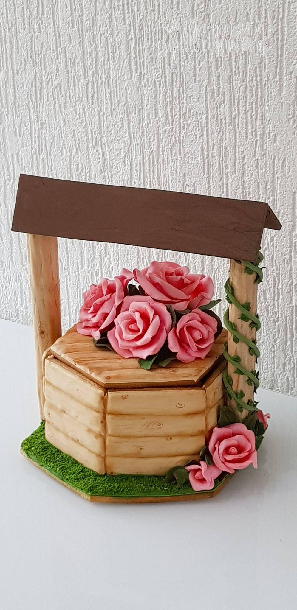 """Dekoruoti imbieriniai sausainiai 3D """"Laimės šulinys"""""""