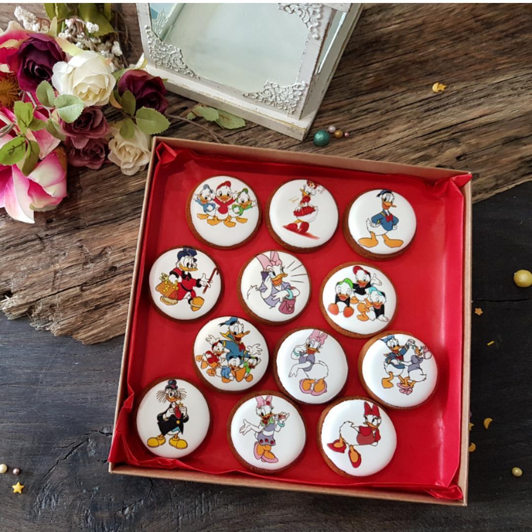 """Dekoruoti imbieriniai sausainiai """"Donaldas"""""""